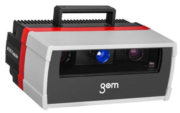 ATOS Capsule – Ny Optisk 3D-scanner för kvalitetskontroll med höga krav.