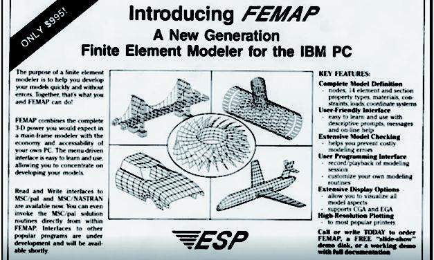 FEMAP – det stabila, beprövade  och pålitliga FEA-verktyget