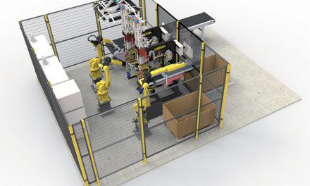 Svetsning av muttrar effektiviseras med robotar och ny 3D CAD lösning!