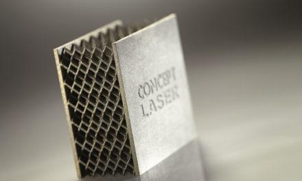 Metallskrivare tar steget in i serietillverkning