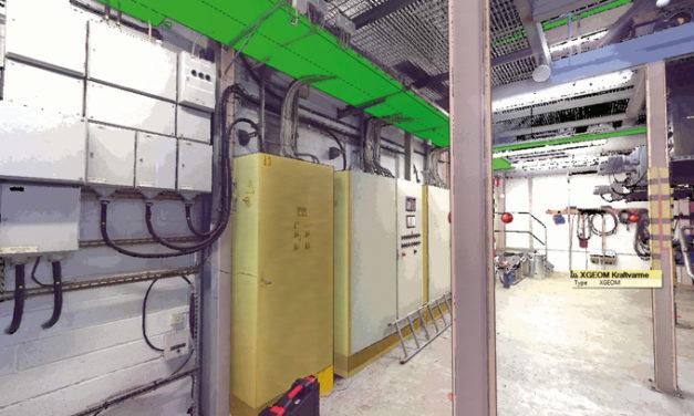 Modellering direkt i skanningsmolnet ger fördelar för Conmore