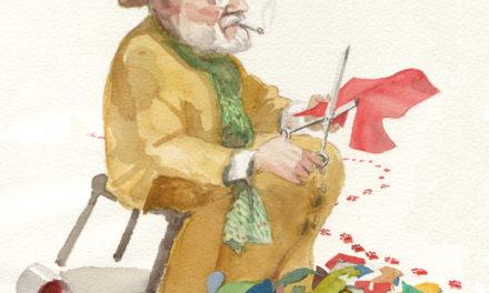 Matisse och hans franska lapphund