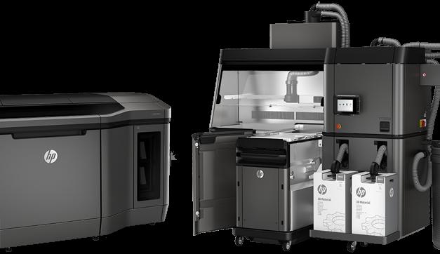 Vännäs Verkstad först med HP Jet Fusion 3D skrivare i Skandinavien