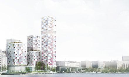 Wingårdhs Skyline på Liljeholmen tar boendet till nya dimensioner