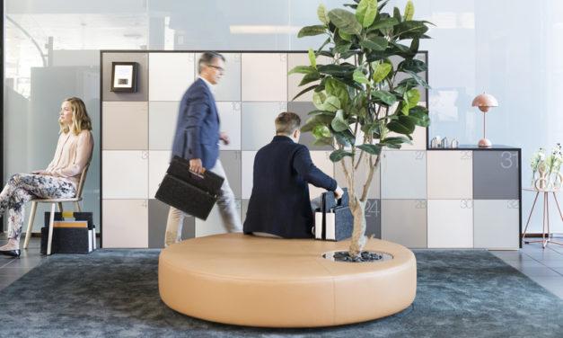 Smartphone öppnar skåp på kontor och i offentliga rum