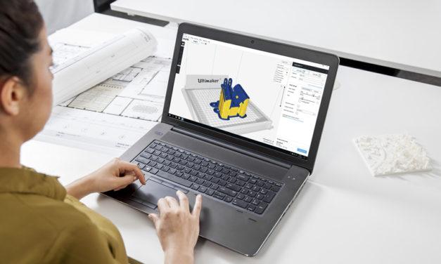 Ny mjukvara till 3D-skrivaren Ultimaker möjliggör CAD-integrering