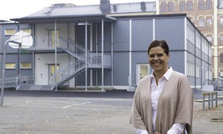 Nya högstadieskolan i Eskilstuna har inga skolböcker