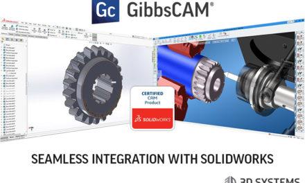 Med nya GibbsCAM version 12 medföljer uppdaterad länk mot Solidworks 2018