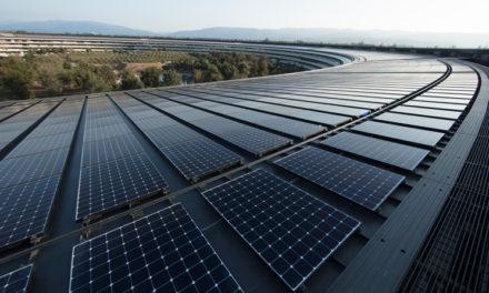 Apple drivs nu globalt av 100 procent förnybar energi
