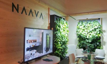 Naava är en prisbelönt nordisk smart växtvägg