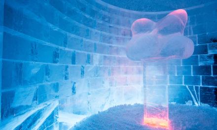 Två nya konstsviter av is och snö står klara i året runt öppna Icehotel