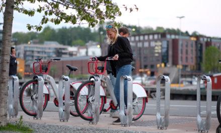 Digital Mechanics och Urban Sharing får norrmännen att cykla