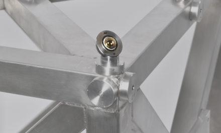 Ny vidvinkelreflektor för lasertracker-system