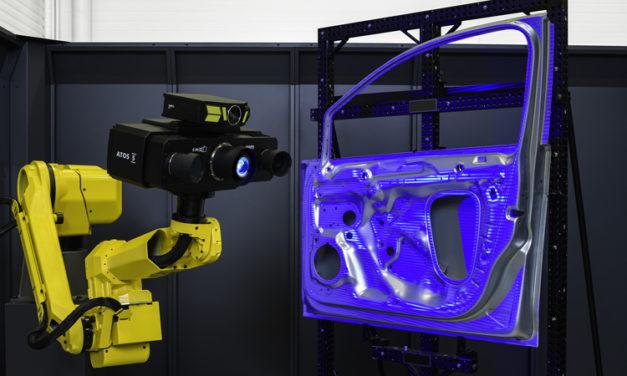 Ny generation av ATOS 3D-scanner