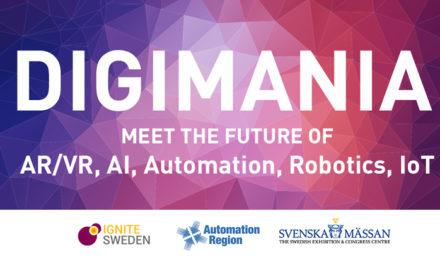 Digimania – ny framtidsarena på mässan Scanautomatic