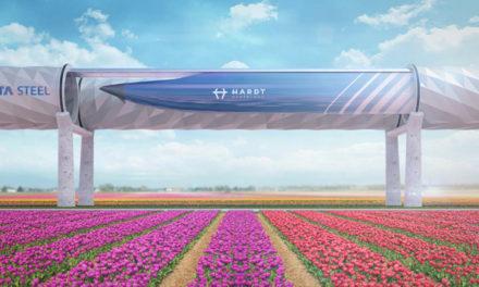 Tata Steel visar upp stålrörsteknik för Hyperloop