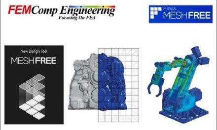 FEMComp presenterar ett nytt designverktyg – midas MESHFREE.