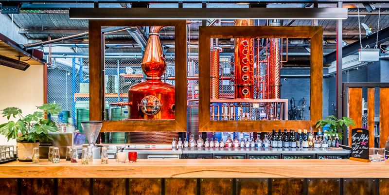 Gin Distillery runs on stateof-the-art Siemens technology