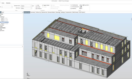 IMPACT precast software now compatible with BricsCAD v19