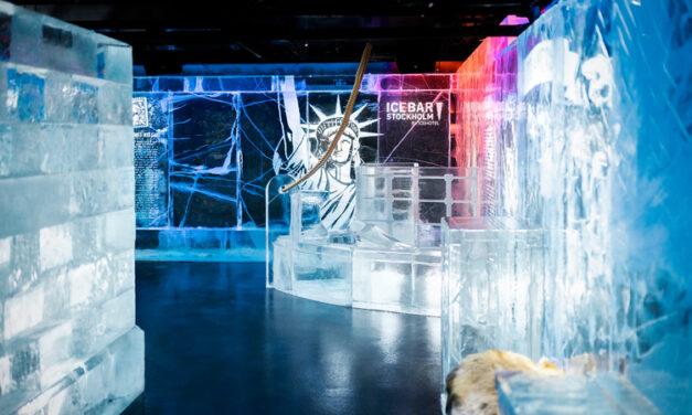 Flykt i fokus på ICEBAR by ICEHOTEL Stockholm