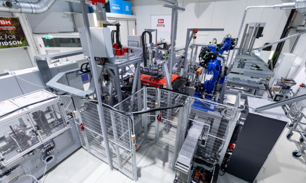 Battery production with digital twin