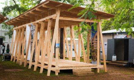 Svenskt träbyggande tog plats på FN:s världskongress