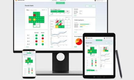 Digitaliserade beslutstavlor ger effektiva möten i industrin