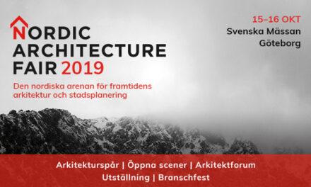Unga arkitekter möter världsnamn under årets Nordic Architecture Fair