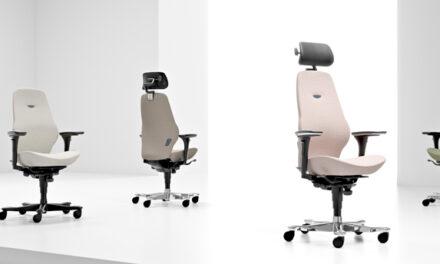 Kinnarps arbetsstol Plus är en klassiker inom svensk ergonomidesign