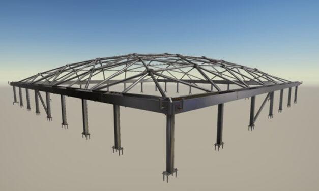 Komplex stålkonstruktion lade grunden till Nationalmuseums spektakulära glastak