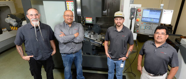 Complex Machining Replaces Casting for Two-Piece Components in Piston Prototypes