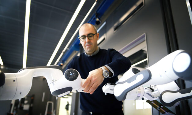 Autonoma robotarmar ska göra gruvan säkrare