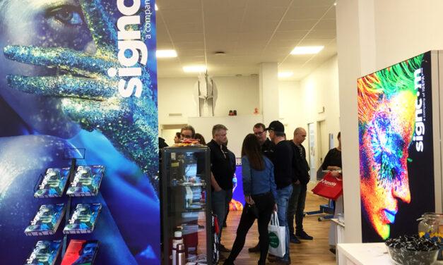 Fullt hus hos Signcom Stockholm
