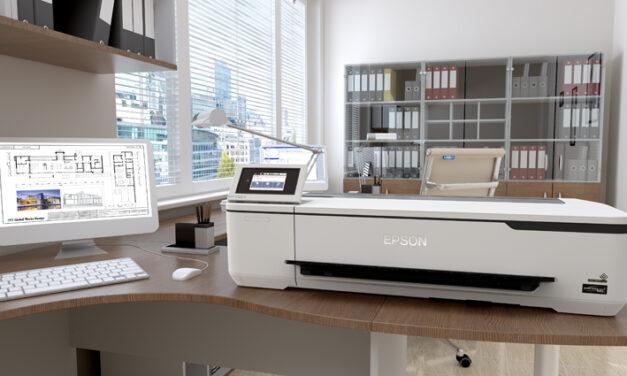 Epson lanserar sin hittills minsta, mest prisvärda och portabla storformatskrivare