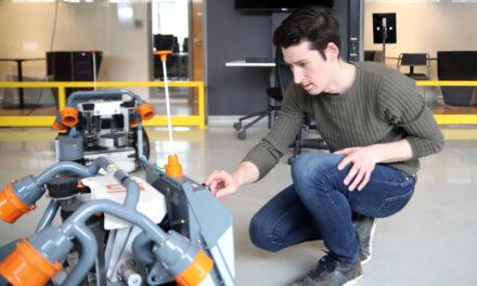 Robotar kan hjälpa företag i regionen
