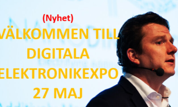 Nya digitala ElektronikEXPO