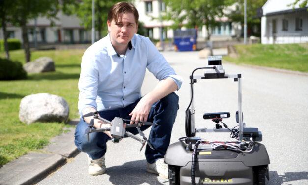AI-forskare hjälper Saabs robotar att kommunicera under vatten