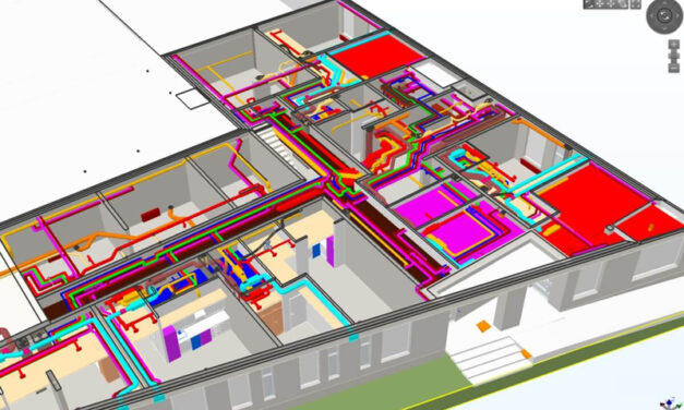 Building Information Model makes challenging urban apartment building projects possible