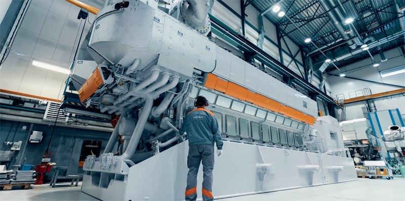 Wärtsilä deploys simcenter tools to build a high-efficiency engine