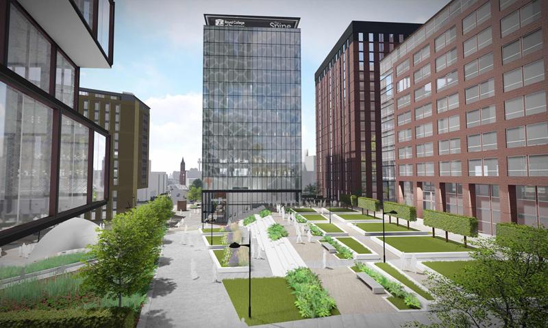 Renewing a Public Space with BIM