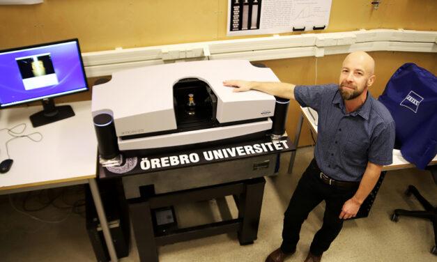 3D-printade bildelar från Italien testas i Örebro