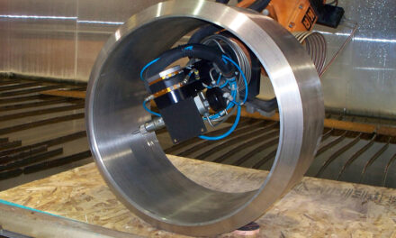 Job Shop Empowered by 5-Axis Waterjet, Mastercam, and a Robotic Arm