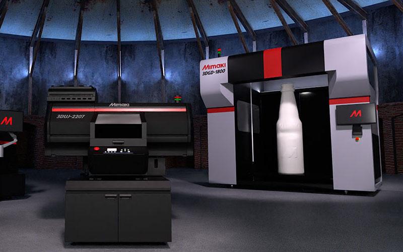 Mimaki lyser upp 3D-världen med en ny, kompakt UV inkjet 3D-printer i fullfärg