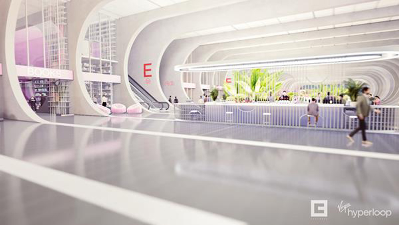 Virgin Hyperloop Unveils Passenger Experience Vision