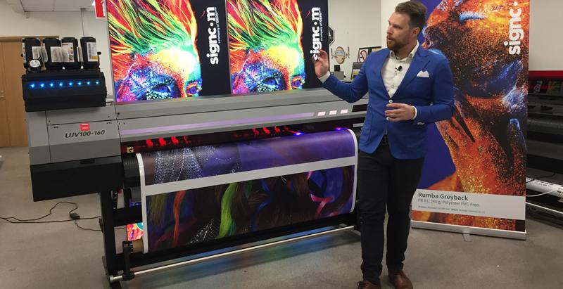 Signcom på Sign & Print Connect