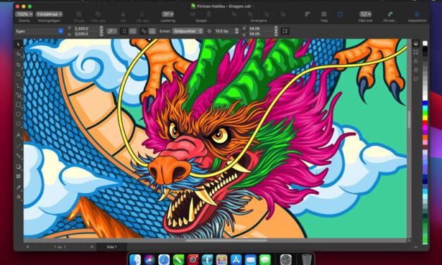 Nya CorelDRAW Graphics Suite 2021