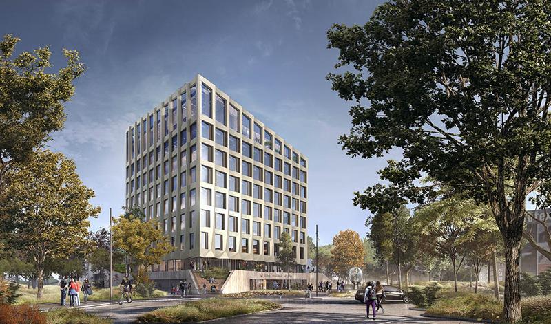 Större nytta av PREFAB-Print när COWI dimensionerade nytt rådhus i Höje-Taastrup