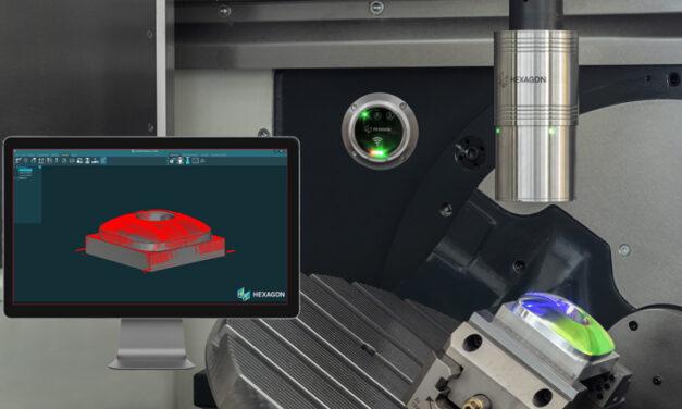 Världens första trådlösa laserscanner för mätning av detaljer inuti CNC-maskiner eliminerar delinspektion och justering av flaskhalsar