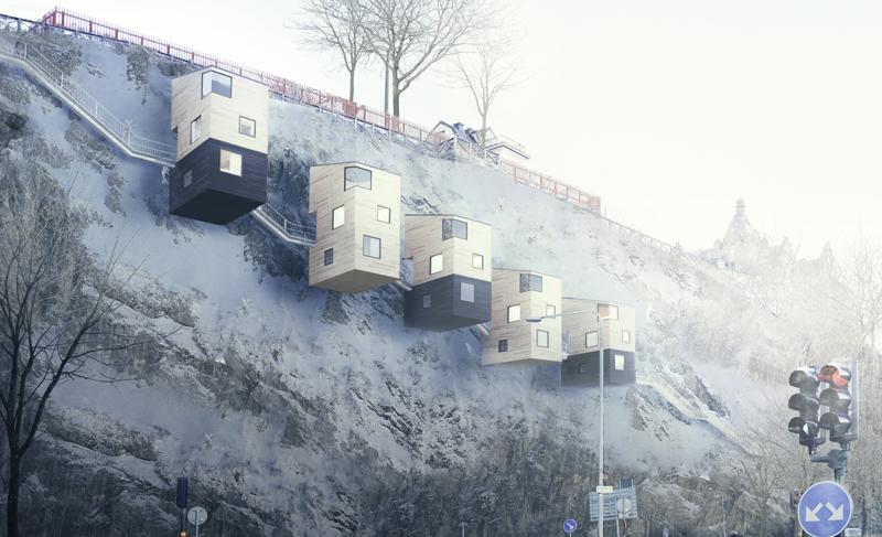 """KOLDIOXIDFRI """"GRUNDLÄGGNING"""" PÅ BERGVÄGGAR?"""