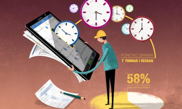 Felhantering största tidsvinsten när byggdokumentation och kommunikation digitaliseras